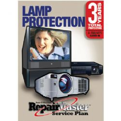 REPAIR MASTER A-RMLMP3- 3 Year Bulb Warranty for DLP and LCD Bulb Failures on any TV or Projector