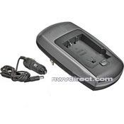 Panasonic Mini Travel Battery Charger **Charges in 30-60 Minutes** AC/DC For Home/Car