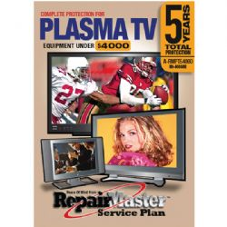 REPAIR MASTER PLASMA A-RMPT54000 5-Year In-Home Television Warranty Service Plan Plasma Television (Total 5 Years)