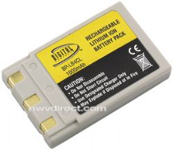 Mionolta By Digital Concepts NP500/600 Lithium Ion Battery For Konica-Minolta® Cameras (3.7 Volt, 1000 Mah)