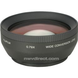 Fujifilm WL-FX9B 55mm 0.79x Wide Conversion Lens with Adapter (Black) for Finepix Digital Cameras