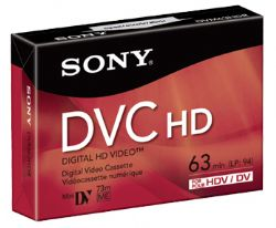 Sony DVM-63HD(R) 63 Minutes Mini DV HD Video Cassette