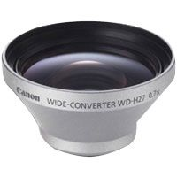 Canon WD-H27 27mm 0.7x Wide-Angle Converter Lens for Canon Optura S1, Elura 100 Digital Video Cameras