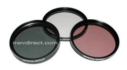 Crystal Optics Limited Edition 86mm 3 Piece Multi-Coated, Multi Threaded Deluxe Glass Filter Kit