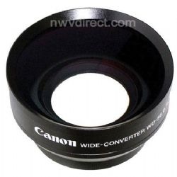 Canon WD-58H 58mm 0.7x Wide Angle Converter Lens with Lens Hood - for GL-2 DV Camcorder