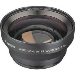Canon WC-DC58A, 58mm 0.75x Wide Angle Converter Lens for Powershot S2IS, S3IS, S5IS, & Pro 1 Digital Camera