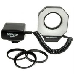 Bower SFDRF Digital Macro Ring Flash for Nikon, Canon, Pentax & Olympus Digital and 35mm SLR Cameras