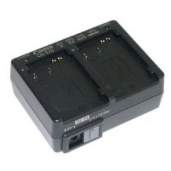 Canon CG-570 Dual Battery Charger - for 500 Series Batteries (Requires CA-570 AC Adapter or CB-570 Car Cable)