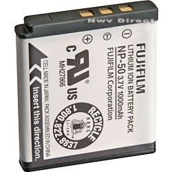 Fujifilm NP-50 Rechargeable Lithium-Ion Battery for Finepix F50fd Digital Camera (3.7v 1000mAh)