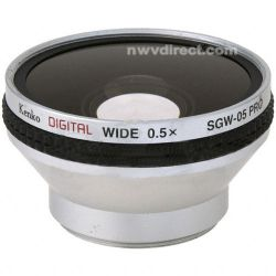 Kenko SGW-05 Pro 37mm 0.5x Pro Wide Angle Converter Lens
