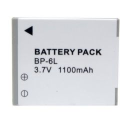 Canon By Digital Concepts NB-6L High Capacity Lithium Ion Battery For Canon Video (3.6 Volt, 1100 Mah)