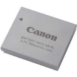 Canon NB-4L Lithium-Ion Battery (3.7v 760mAh) for Canon PowerShot Digital Elph Cameras