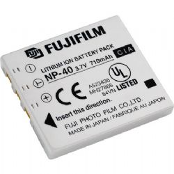 Fujifilm NP-40 Lithium-Ion Battery (3.7v 710mAh) for Finepix F402, F700 & F810 Digital Cameras