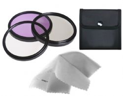 Crystal Optics 46mm 3 Piece Multi-Coated, Multi Threaded Deluxe Glass Filter Kit